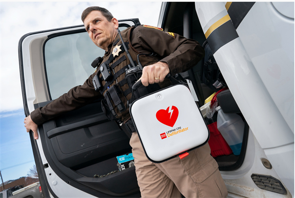 $10.1 million grant from Helmsley Charitable Trust provides Iowa law enforcement officers and first responders with more than 4,000 AEDs