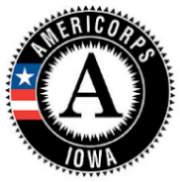 AmeriCorps - Iowa logo
