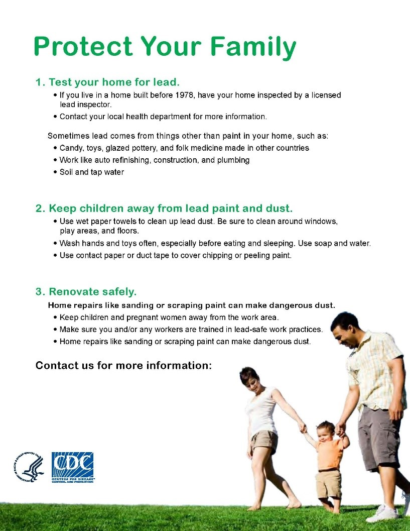 CDC Protect Your Family