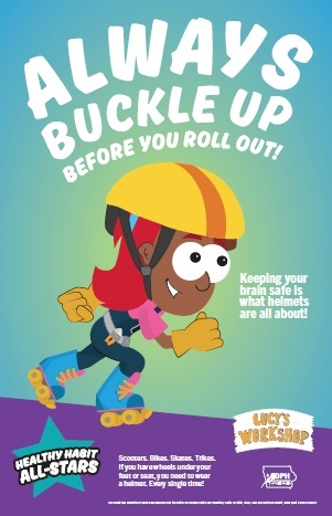 poster image always buckle up before you roll out!