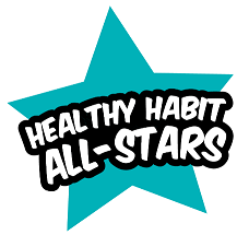 Image of the Healthy Habits All-Star's logo.
