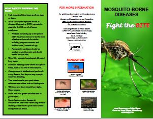 Fight the Bite Mosquito-Borne Diseases Brochure