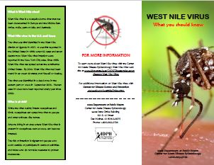 West Nile Virus Brochure